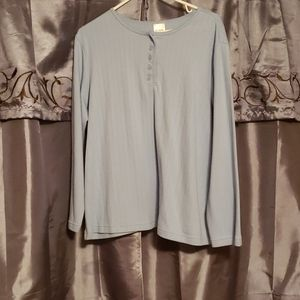 EUC Blue blouse